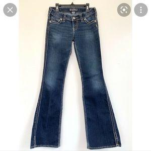 "NWOT Silver Jeans- Frances 22"" Flare Jeans"